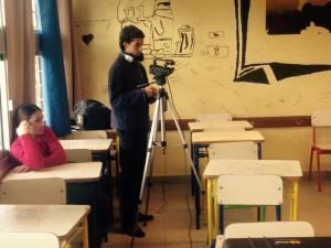 Nahuel Umpiérrez, como siempre, a cargo de la cámara.
